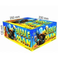 Bubble man - kompaktní ohňostroj - kompakt 130 ran