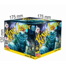 Pyrotechnika Kompakt 49ran / 20mm King Julien
