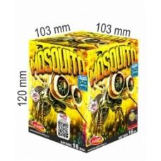 Mosquito  - kompaktní ohňostroj - kompakt 16 ran
