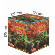 Turtle Burger - kompaktní ohňostroj - kompakt 25 ran