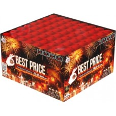 Kompaktní ohňostroj Best Price Wild Fire 64 ran 20 mm