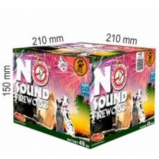 NO SOUND FIREWORKS, kompakt 49 ran / 25mm