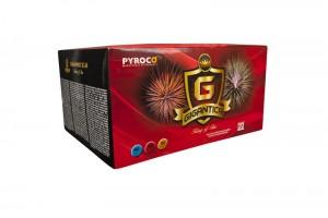 Gigantica - kompaktní ohňostroj 90 ran / 20-25mm