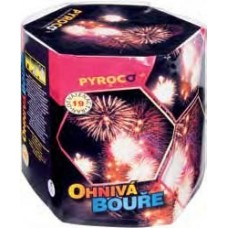 Pyrotechnika Ohnivá Bouře (Karnevalový rej) kompakt 19 ran